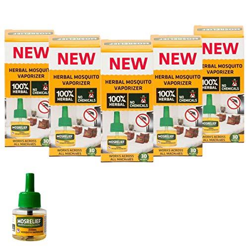 Strategi Herbal Mosquito Repellent Vaporizer - 5 Piece Refill (5 X 40Ml)