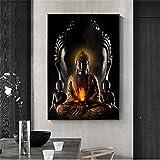 SSHABC Gott Buddha Leinwand Kunst Buddhismus Poster