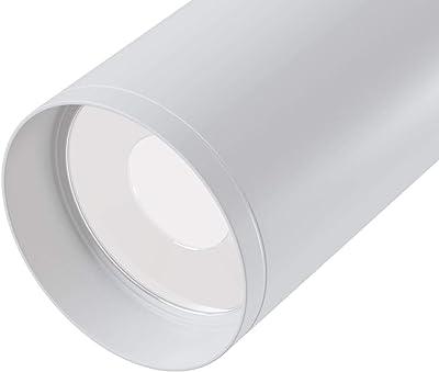 Spot plafonnier. En aluminium couleur blanc. 1 X GU10 non incl. (50W)