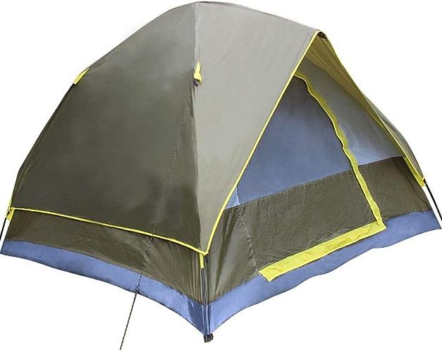 SHB Canopy Auvent de Tente 3-4 Personnes Tente de Camping Prougeection UV imperméable Pliable Facile à Installer, adapté à la Famille Jardin Camping pêche Plage