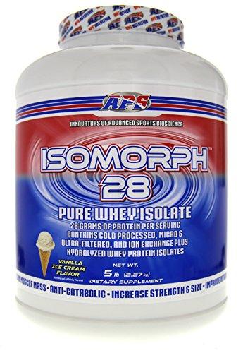 APS Nutrition Isomorph 28, Vanilla Ice Cream, 5 Pound
