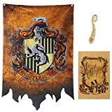 birthday decor for harry flag potter Wall Banner, gryffindor | hufflepuff | ravenclaw | Casa Slyther...
