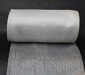Yikai Fiberglass Woven Roving Cloth  2.6 Oz Plain Weave  8.6 inch x 164 feet  22cm x 50m  Long for Boat & Pool Repair