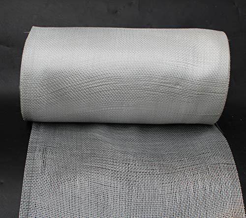 "Yikai Fiberglass Woven Roving Cloth (2.6 Oz, Plain Weave), 11.8""inch x 164'feet (30cm x 50m) Long for Boat & Pool Repair"