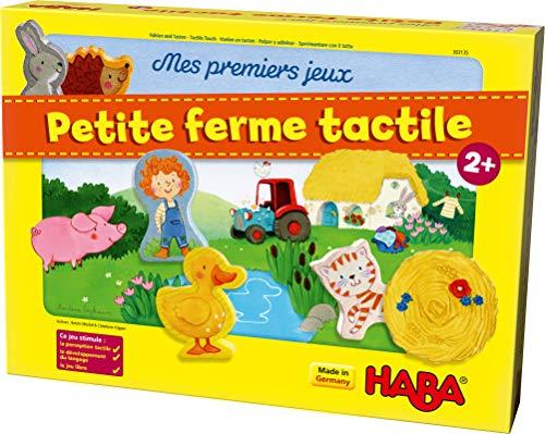 HABA-Mes Premiers Jeux – Petite Ferme Tactile, 303135, Coloré