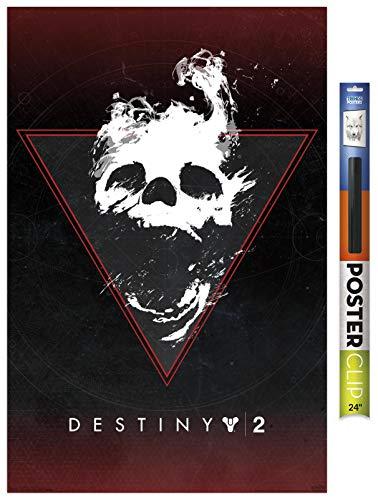 Trends International Destiny 2-Darkness Zone Clip Póster de pared, 56,8 x 86,4 cm, paquete de póster y clip