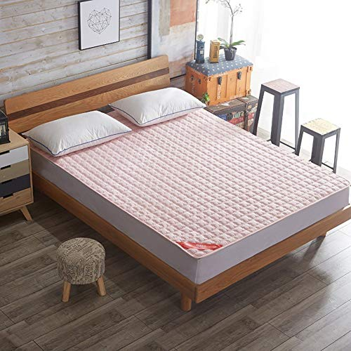 WANGXIAO Tatami vloermat, studentenslaapzaal matras topper dun rolt omhoog flanel gemakkelijk te reinigen opvouwbare kussen matten draagbare vochtbestendig comfort.