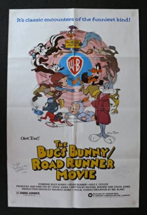 Bugs Bunny Road Runner Movie, Original 27x41 Regular Rolled Movie Poster