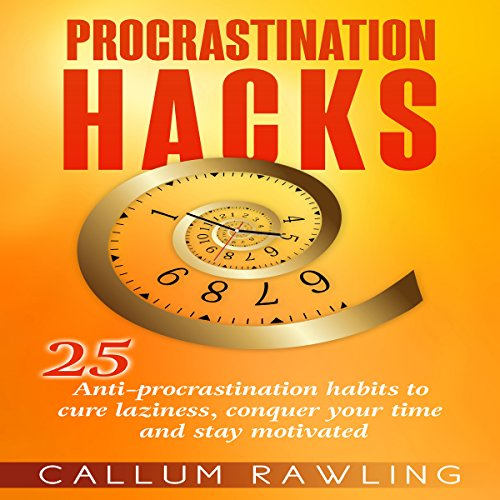 Procrastination Hacks audiobook cover art