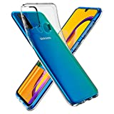 Spigen Liquid Crystal Back Cover Case Compatible with Samsung Galaxy M21   M30S - Crystal Clear fingerprint scanner Apr, 2021