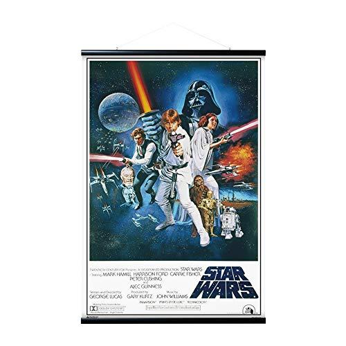 Grupo Erik Appendi Stecche magnetiche, Poster Star Wars Classic + Cornice, 61x91,5