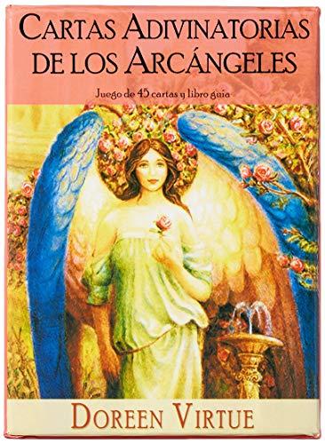 Cartas Adivinatorias De Los Arcángeles - Juego de 45 cartas y libro...