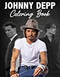 Johnny Depp Coloring Book: An Cool Coloring Book With Lots Of Johnny Depp Illustrations To Color And Relax