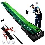 Ulalov Golf Putting Mat, Portable Golf Practice Mat, Golf Putting Green Set