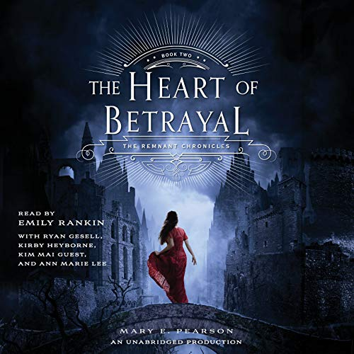 The Heart of Betrayal     The Remnant Chronicles              By:                                                                                                                                 Mary E. Pearson                               Narrated by:                                                                                                                                 Emily Rankin,                                                                                        Ann Marie Lee,                                                                                        Ryan Gesell,                   and others                 Length: 13 hrs and 45 mins     1,441 ratings     Overall 4.6