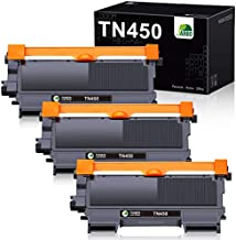 JARBO Compatible Toner Cartridge Replacement for Brother TN450 TN-450 Toner Cartridges, 3 Black, Use with Brother HL-2270DW HL-2280DW HL-2230 HL-2240 HL-224D MFC-7860DW MFC-7360N DCP-7065DN Printer