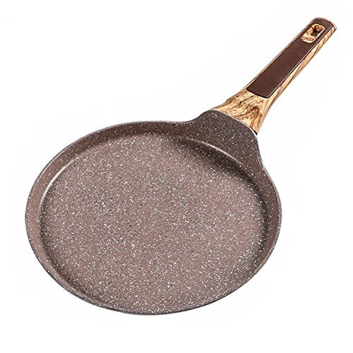 22-26cm endocarpium Non-stick Pan Layer-cake Cake Pancake crêpe Plane Home Kitchen supplies (Color : 24cm)