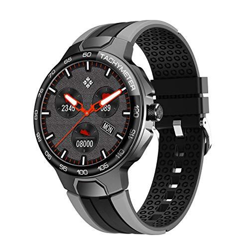 Smartwatch Uomo Donna con Cardiofrequenzimetro del Sonno, Orologio Fitness con 24 Modalità di Esercizio, Fitness Tracker Contatore di Calorie Impermeabile IP68, Adatto per iPhone e Android