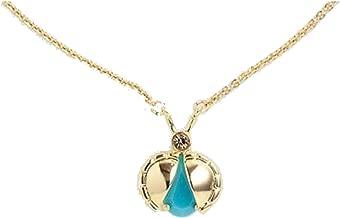 Kate Spade Unwanted Visitor Turquoise Ladybug Necklace