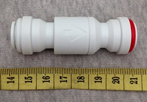 """John Guest 3/8"""" One Way Check Valve RO Reverse Osmosis Water Filter NSF Certified"""