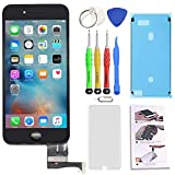 for iPhone 8 Plus Screen Replacement Black 5.5 inch 3D Touch Screen LCD Digitizer Display Assembly with Free Repair Tools