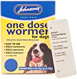 Johnson's EASY DOSE WORMER SIZE 2 (MEDIUM DOG) 2 TABLETS PER PACK – 1, 3 OR 6 PACKS (1 PACK)