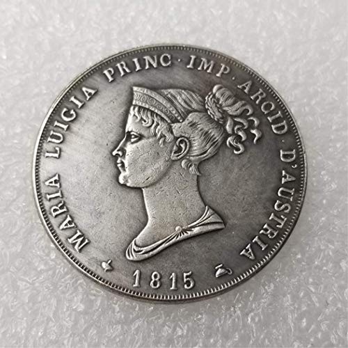 DDTing 1815 italienische US-Münze – italienische Lira-Münze – alte italienische Lira-Münze zum Sammeln – US Dollar Italien altes Original Pre Morgan Dollar goodService