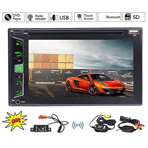 EINCAR Wince-System in dem Schlag-Doppelt-Lärm-6.2 Zoll-kapazitiven Touch Screen Hauptgerät Integrierte Bluetooth FM AM-Radio-Tuner-Unterstützung USB SD-1080P Video-Bunte Lichter 3 Arten UI optional