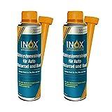 INOX® Detergente per sistema di raffreddamento, additivo, 2 x 250 ml – Protezione del radiatore per auto, motore e barca