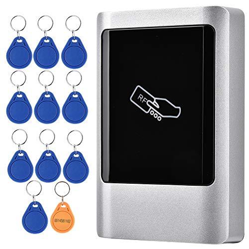 HONG Cerraduras eléctricas para Puertas Cerradura RFID Aleación de Zinc 7.3 * 5.3 * 2.2in Puerta Segura para el hogar(ID)