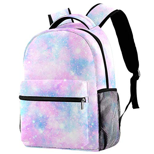 Pretty Galaxy Personalised School Bag for Boys and Girls - Kids School Backpack - Childrens rucksacks for Boys and Girls