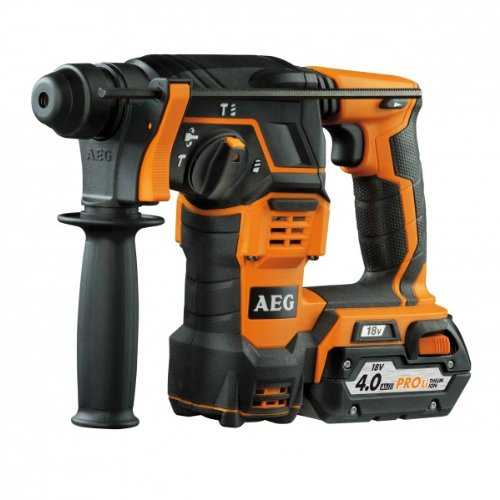 AEG BBH18-LI402C Perforateur Burineur Électrique sans fil 18 volts SDS-Plus