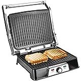 Ultratec Grill a Contatto 2 in 1 CG2000, 2000 Watt, con Funzione Barbecue