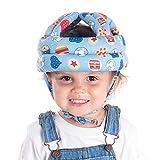 Casco de bebé Protector de Cabeza, Casco de protección para bebé, Sombrero de seguridad protector infantil suave,Sombrero de protección para la cabeza para caminar gateando