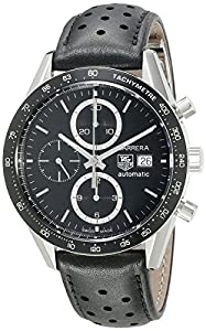 TAG Heuer Men's CV2010.FC6233 Carrera Automatic Chronograph Watch Check Prices and Reviews and review image