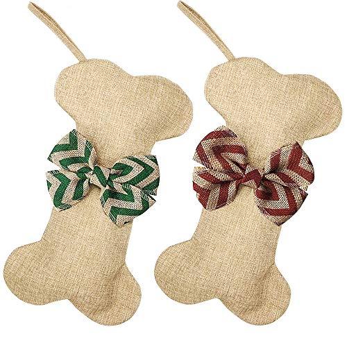 Yodofol 2 Pack Dog Christmas Stockings