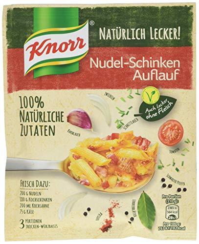 Knorr Natürlich Lecker Nudel-Schinken Auflauf Fix 3 Portionen