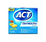 Best ACT Dry Cough Medicines - Act Dry Mouth Lozenges, Honey Lemon, Sugar Free Review