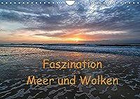 Faszination Meer und Wolken (Wandkalender 2022 DIN A4 quer): Meer und Wolken - Bilder einer einzigartigen Faszination. (Monatskalender, 14 Seiten )