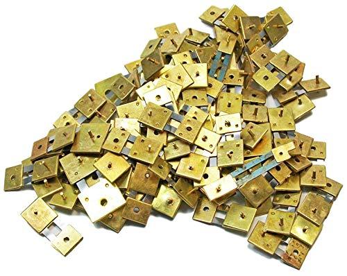 100 pendelveren voor regulateurs huisklokken staande klokken antieke klokken suspensions Lot