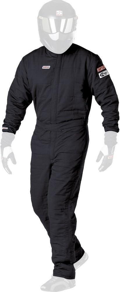 Simpson Racing Super Sport Excellent Quality inspection Large Black Suit