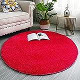 LYKEJI redondo zona alfombra para habitación de los niños...