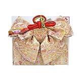 女の子 七五三 ペアーセット (帯 草履バック セット) 白 ピンク 古典柄 【7歳用】 ngs-l-030