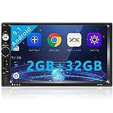 Autoradio doppio Din, lettore per auto Android 7'' HD 1080P 2G + 32G con navigazione GPS Bluetooth WIFI, supporto stereo per auto MP5 MirrorLink / USB