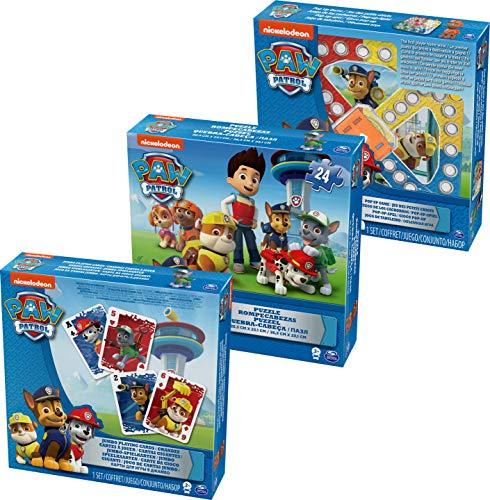 Cardinal - 6033299 - Bundle Puzzles + Jeux - Paw Patrol La Pat'Patrouille
