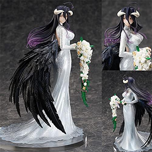 Overlord -- Albedo Anime Figuras Vestido de Casamento Ver. Personagem Modelo Estátuas Ornamentos Anime Coleção Presentes TO104