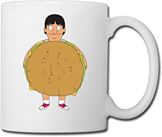 Bobs Burgers Gene Stand Up American Sitcom Ceramic Coffee/Tea Mug Custom Mug White 11oz For Daily Use