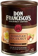 Don Francisco's Hawaiian Hazelnut, Premium 100% Arabica Coffee Beans, Medium-Roast, Ground, 12-Ounce Can