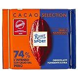 RITTER SPORT Kakao-Klasse: Die Kräftige 74 % aus Peru (100 g)