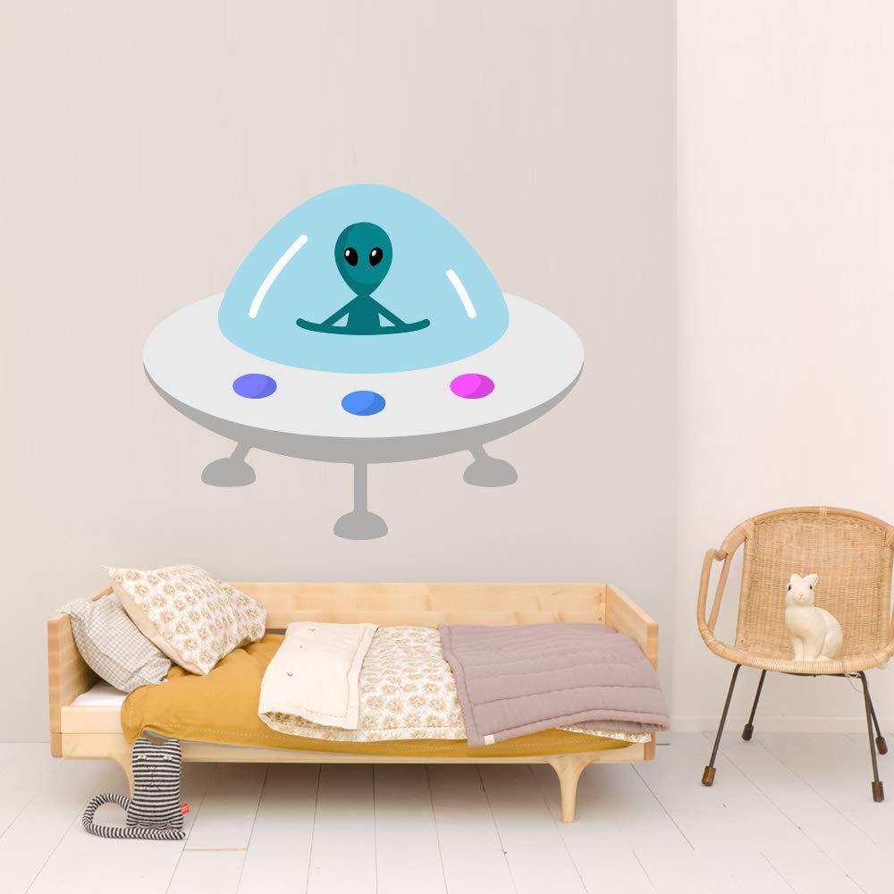 UFO Alien Space Nippon sold out regular agency Kids Room Wall Car Vinyl Sticker Art Mural Decal